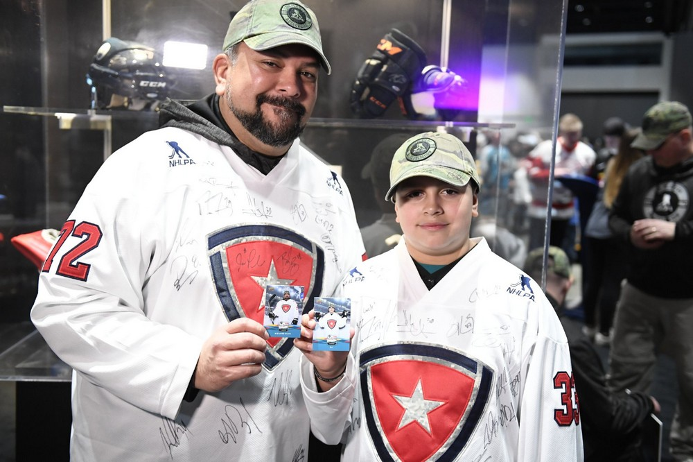 NHLPA with United Heroes League